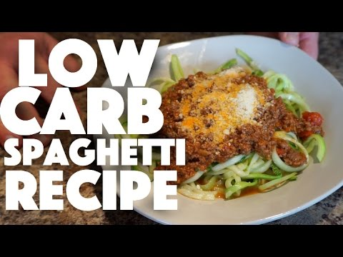 Low Carb Spaghetti Recipe