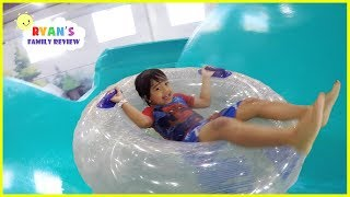 Surprise Birthday at Great Wolf Lodge Indoor Waterpark Playground for Kids