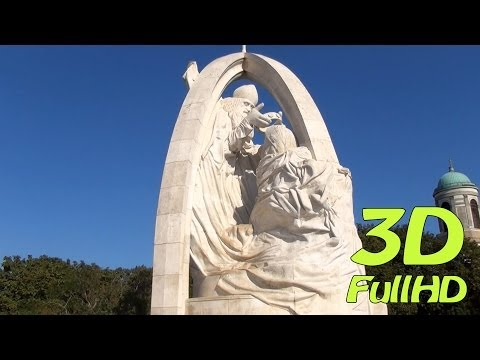 [3DHD] Walking Tour/Gyalogtúra: Basilica, Esztergom, Hungary / Esztergomi bazilika, Magyarország