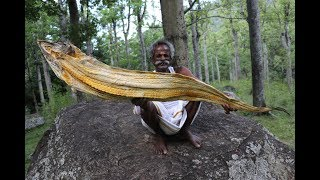 New!!! 6 Feet DRY FISH Fried Rice Prepared by my Daddy Arumugam / Village food factory