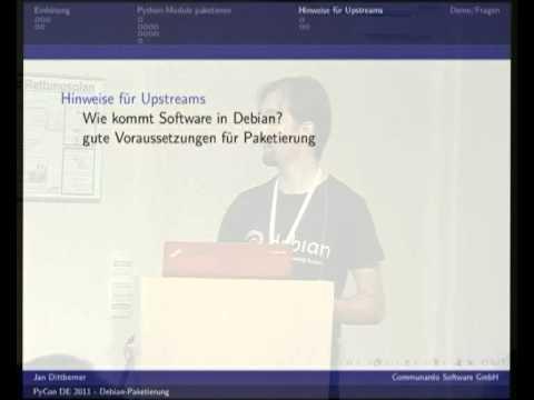 Image from Paketieren von Python-Anwendungen und -Bibliotheken für Debian
