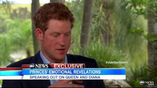 HRH Prince Harry Opens Up in Katie Couric Interview