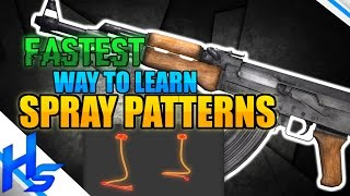 """""""FASTEST Way To Learn Spray Patterns"""" - How to Spray Transfer In CS:GO Tips"""