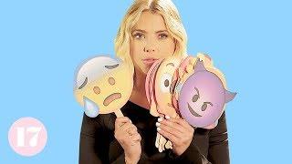 Ashley Benson Reveals Her Most Embarrassing Stories Using Emojis   Seventeen