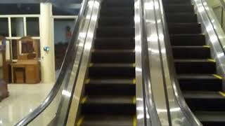 Thanh niên lần đầu đi cầu thang máy :))