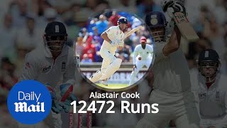 Top 10 all-time cricket Test run-scorers - YouTube