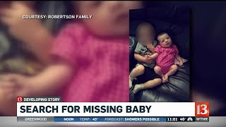 Search for Missing Baby Amiah Robertson