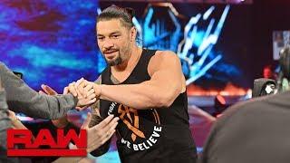 Roman Reigns returns to WWE: Raw, Feb. 25, 2019