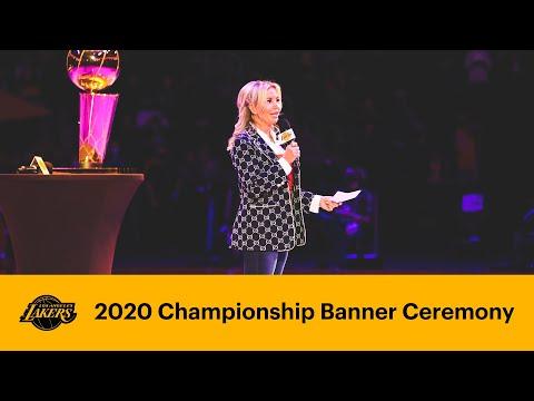 2020 Championship Banner Ceremony