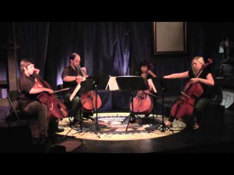 Video of my cello quartet Love4Cello performing Clocks by Coldplay.