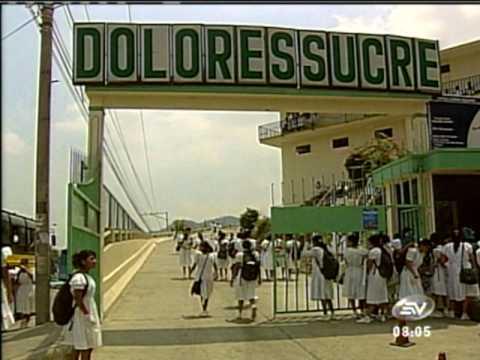 Caso Asesinato Col. Dolores Sucre 24-11-2009 - Ecuavisa