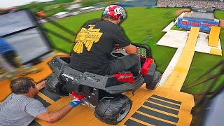 Toy Car VS Mega Ramp! *will he make it?*