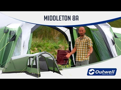 video Outwell Middleton 8A