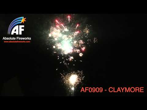 Absolute Fireworks Claymore - 100 shot firework