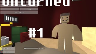 Unturned - karate Moves (Ep1)