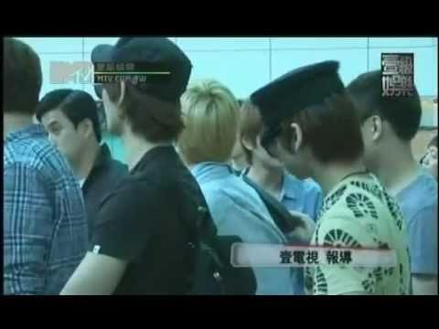 110718 MTV壹級娛樂-SHINee [台北巨蛋演唱會+離台]