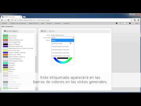 ASIMUT: Trabajar con categorías