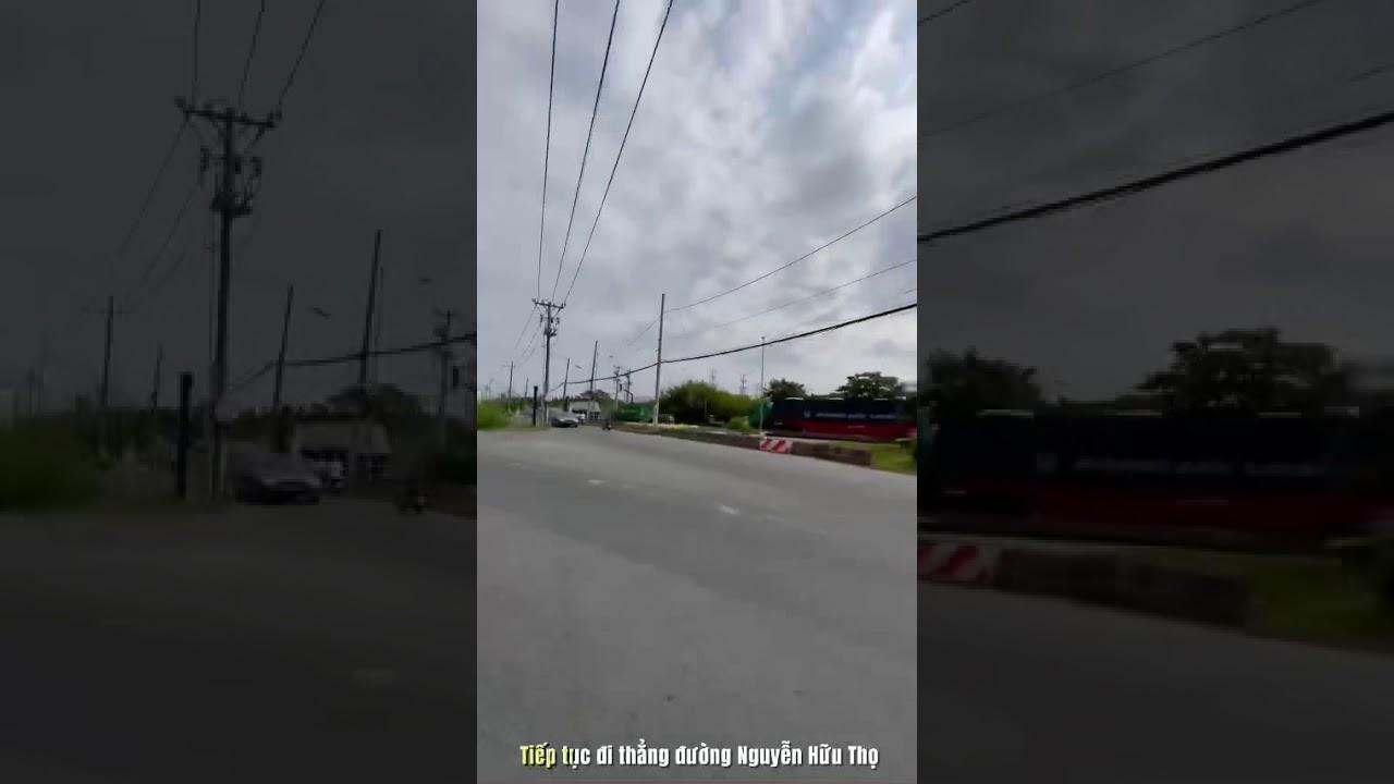 Bán đất nền sổ đỏ Harbour View Hiệp Phước tại Phước Vĩnh Đông, Cần Giuộc, Long An video