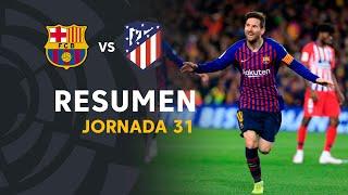 Resumen de FC Barcelona vs Atlético de Madrid (2-0)