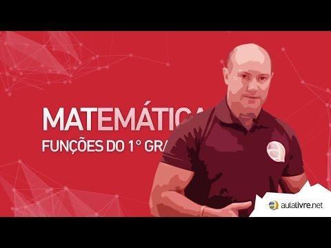 Matemática - Funções do 1º Grau
