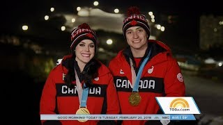 Tessa Virtue & Scott Moir Today Show Olympic Interview | LIVE 2-20-18