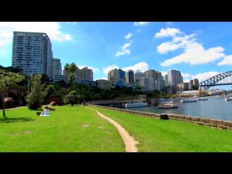 SilverFit Mile- route Sydney Australie