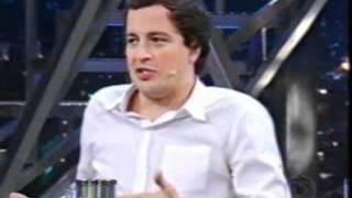 Entrevisa Rafael Cortez ao Programa do Jô