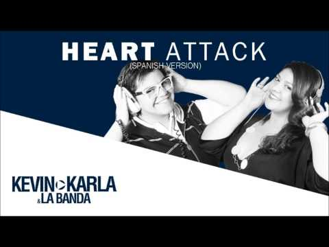 Baixar Heart Attack (spanish version) Kevin Karla & La Banda [Audio] HD