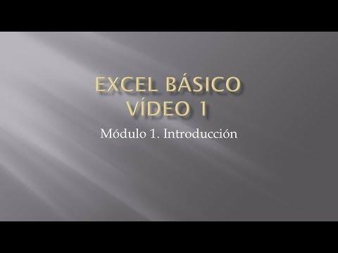 Curso Excel 2013 - Capitulo 0 (Introducción para Principiantes ...