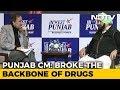 Broken The Backbone Of Drugs: Punjab Chief Minister Tells Prannoy Roy