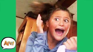 She Got A SISTERLY SCARE! 🤣   Funniest Fails   AFV 2020