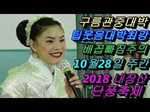 💗버드리💗 10월28일 주간 2018 내장산 단풍축제 초청 공연