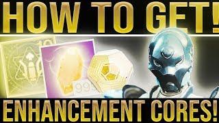 Destiny 2. EASY ENHANCEMENT CORES! How To Get Enhancement Cores, Exotics, Loot (Week 4)