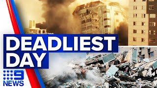 Forty-two dead in latest Israeli airstrikes   9 News Australia