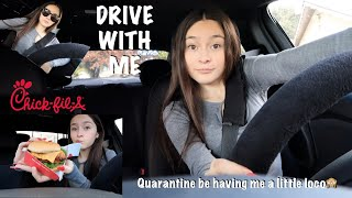 Drive with me to get Chick-Fil-A   Mukbang   SOJOSVision