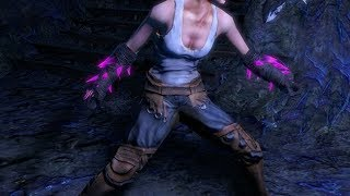 Path of Exile: Purple Crystal Gloves