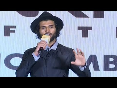 Vijay Devarakonda Superb Speech