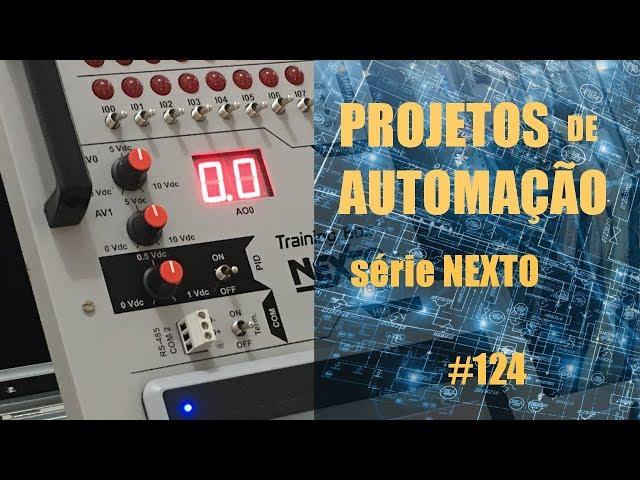 FORNO DE MICROONDAS EMULADO NO CLP NEXTO (p3) | Projetos de Automação #124