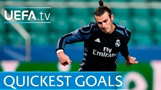 Bale, Seedorf, Makaay: 5 quickest UEFA Champions League goals