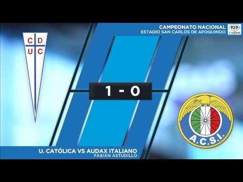Universidad Catolica vs Audax Italiano