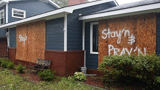 Stay'n and pray'n through Hurricane Florence in Southport, North Carolina