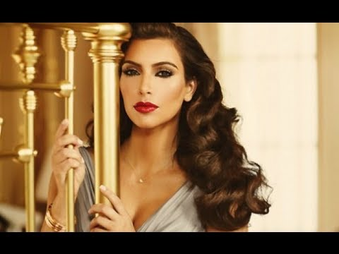 Classic Pin Curl Waves Hair Tutorial Inspired By Kim