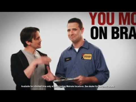 Meineke Brakes Personal Pricing Commercial - 2012