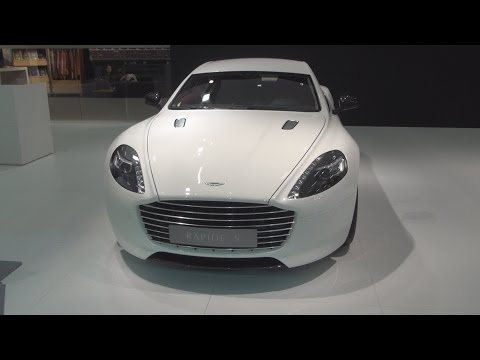 Aston Martin Rapide S 6.0 V12 (2015) Exterior and Interior in 3D