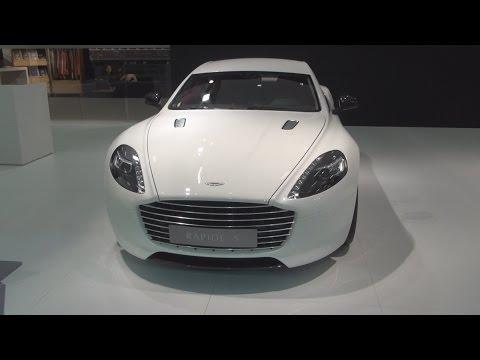 Aston Martin Rapide S 6.0 V12 (2015) Exterior and Interior in 3D