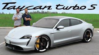 2020 Porsche Taycan Turbo S Review // $250,000 Silent Supercar Killer