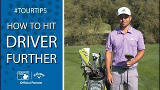 How to hit driver further with Xander Schauffele | Callaway Tour Tips