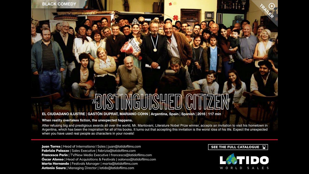 Trailer de El ciudadano ilustre