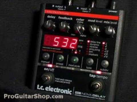 TC Electronic Nova Delay Pedal