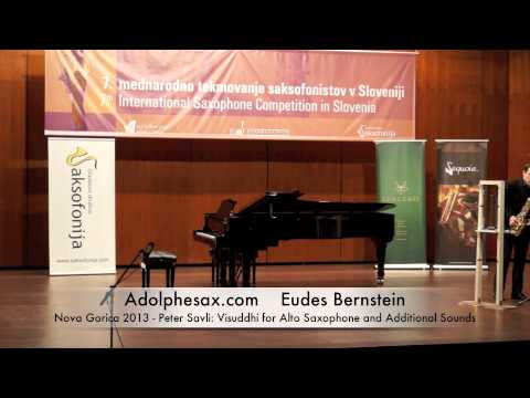 Eudes Bernstein - Peter Savli: Visuddhi for Alto Saxophone and Additional Sounds